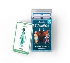 jeux de cartes 7 familles mythologie grecque