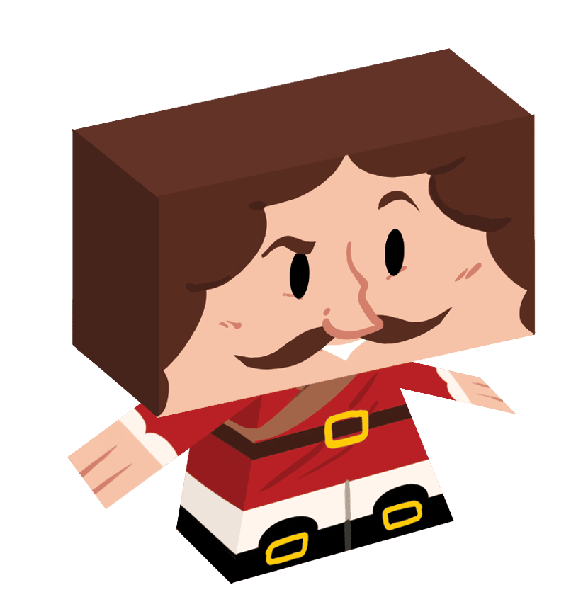 paper toy moliere