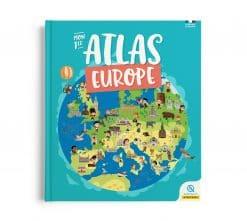 livre atlas enfant europe