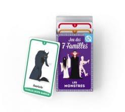 jeux de cartes 7 familles les monstres