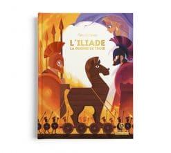 livre enfant histoire l'iliade la guerre de troie