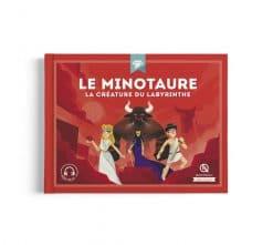 livre histoire enfant le minotaure