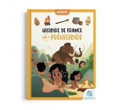 livre enfant histoire de France préhistoire